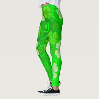 Clovers and Hearts Leggings