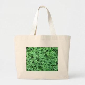 Clovers Jumbo Tote Bag