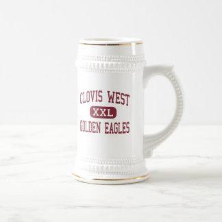 Clovis West - Golden Eagles - High - Fresno Beer Steins