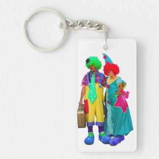 Clown Acrylic Key Chain