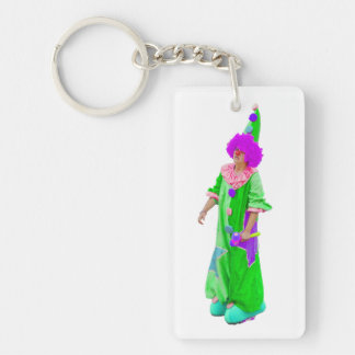 Clown Acrylic Keychain
