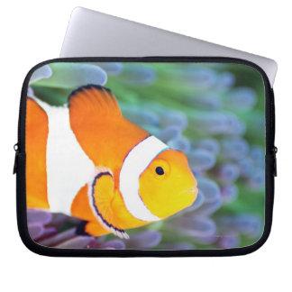 Clown anemonefish laptop sleeve