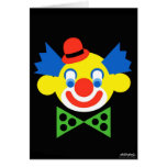 Clown - Art Gallery Selection Greeting Card