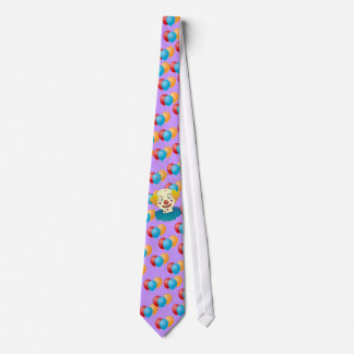 Clown, Balloons and Magic neck tie