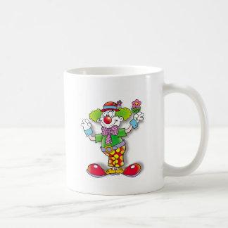 Clown Basic White Mug