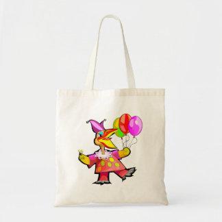 Clown Bird Canvas Bags