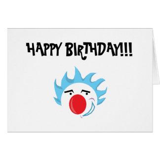Clown Birthday Card