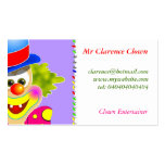 Clown Double-Sided Standard Business Cards (Pack Of 100)