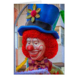 Clown Card