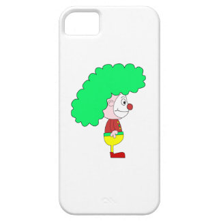 Clown Cartoon. Yellow, red and green. iPhone 5 Cover