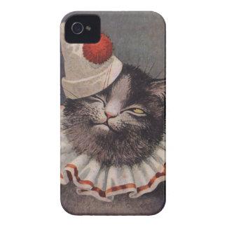Clown Cat iPhone 4 Case