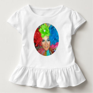 clown circus rainbow jester toddler T-Shirt
