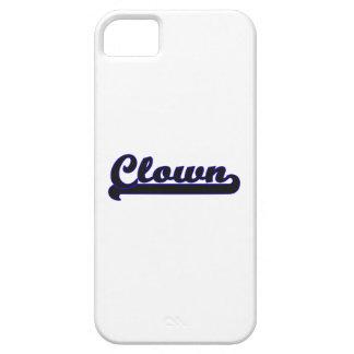 Clown Classic Job Design iPhone 5 Cases