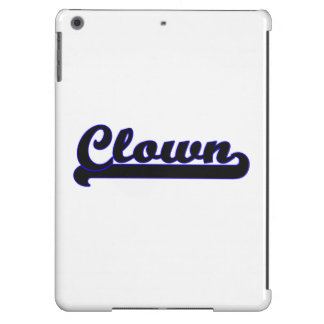 Clown Classic Job Design Case For iPad Air