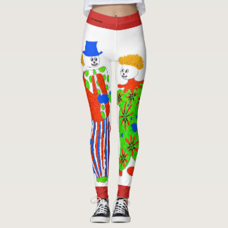 Clown Design Leggings