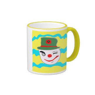 Clown Design Ringer Mug