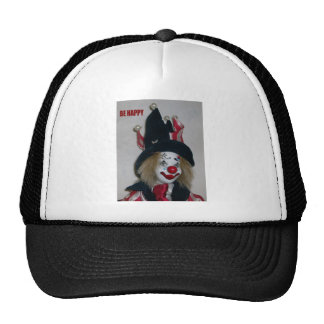 Clown desing mesh hats