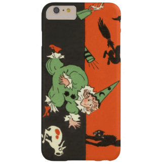 Clown Dog Black Cat Skeleton Scared Barely There iPhone 6 Plus Case
