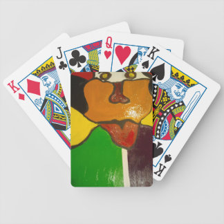 Clown Dog, Playing Cards