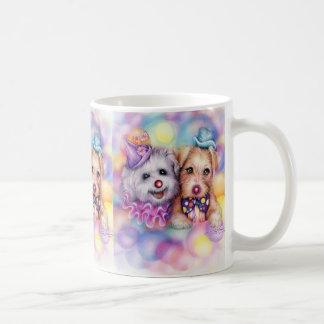 clown dogs, clown dogs, clown dogs mugs