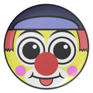 Clown Face Plate