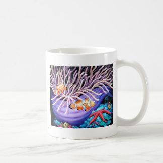 Clown Fish & Anemone Art Mug