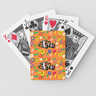 clown fish art poker deck