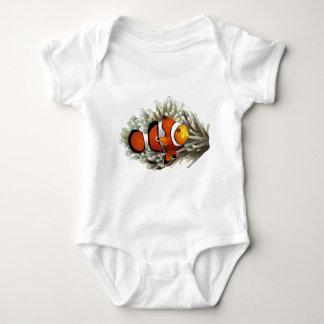 Clown Fish Baby Bodysuit