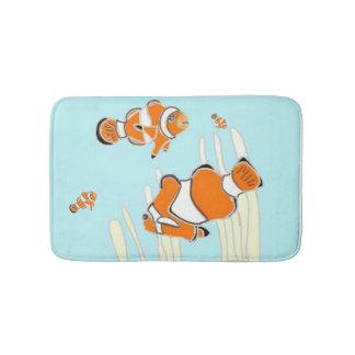 Clown Fish Bath Mat version 2