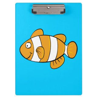 Clown Fish Clipboard