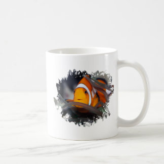 Clown-fish in anemone coffee mug
