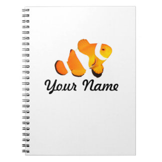 Clown Fish Personalized Notebook