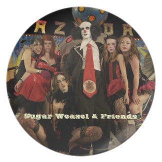 Clown & Friends Plate