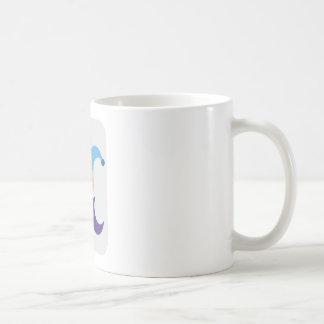 Clown/gives of king Emoticon Twitter Basic White Mug