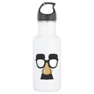 Clown Glasses and Nose 532 Ml Water Bottle