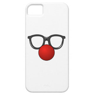Clown Glasses and Nose iPhone 5 Cover