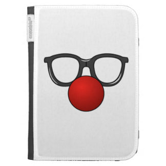 Clown Glasses and Nose Kindle 3 Cover