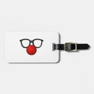 Clown Glasses and Nose Tag For Luggage