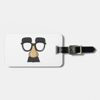 Clown Glasses and Nose Travel Bag Tag