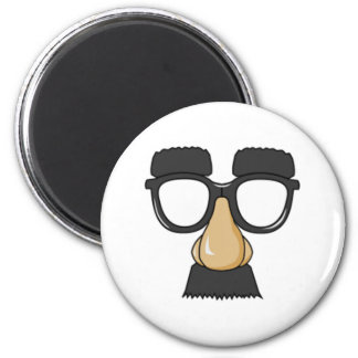 Clown Glasses and Nose Refrigerator Magnets