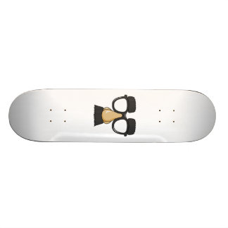 Clown Glasses and Nose Skate Board Deck