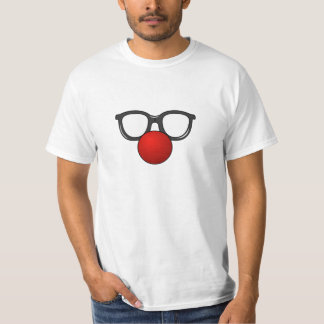 Clown Glasses and Nose T-Shirt