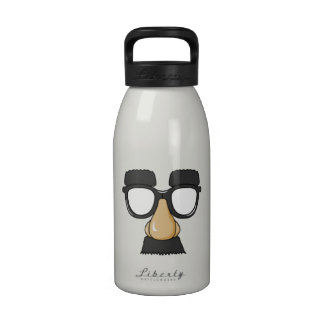 Clown Glasses and Nose Water Bottles