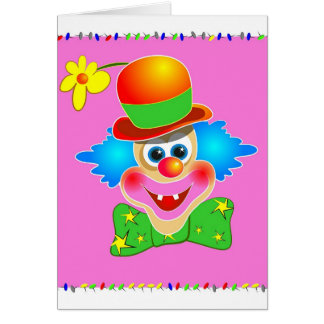 Clown Greeting Cards