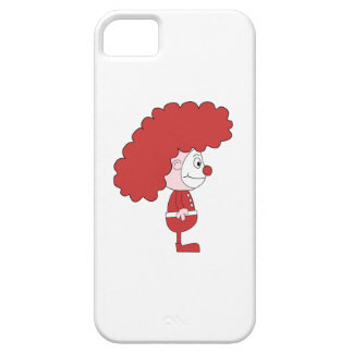 Clown in Red and White. Cartoon. iPhone 5 Cover