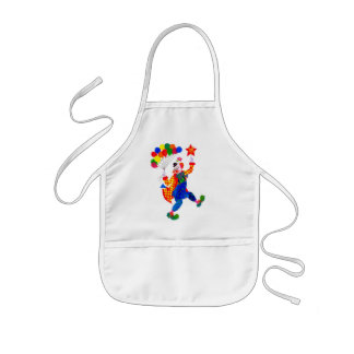 'Clown' Kids Apron