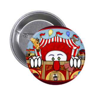Clown Kilroy Button