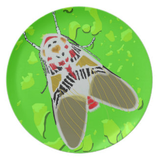 Clown Moth Party Plate