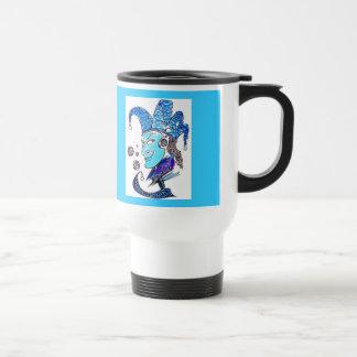 Clown Stainless Steel Travel Mug