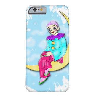 Clown on the moon Iphone case. Barely There iPhone 6 Case